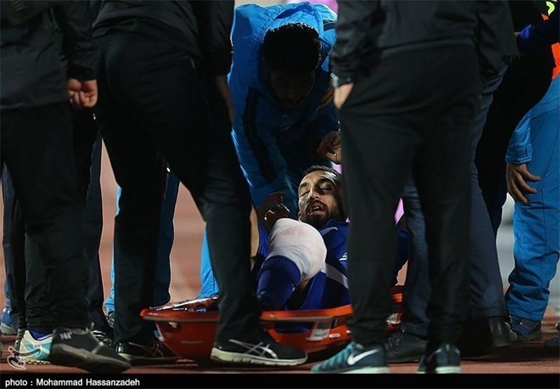 Esteghlal Midfielder Cheshmi Undergoes Successful Surgery