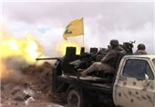Hezbollah Destroys Nusra Tank on Lebanon-Syria Border