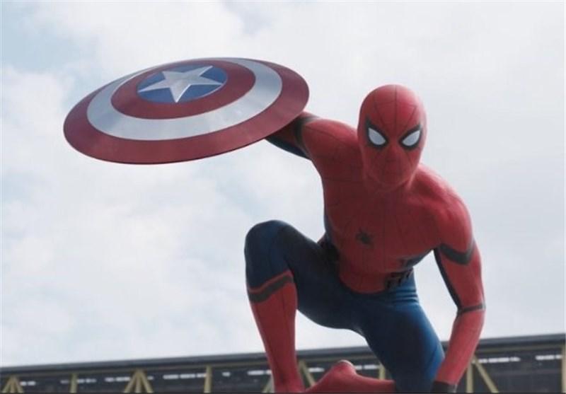 مرد عنکبوتی اسپایدرمن کاپیتان آمریکا: جنگ داخلی