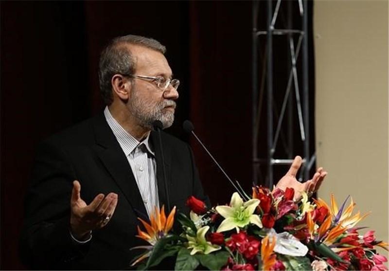 Backing Terrorists in Region Serves Zionists: Iran's Larijani
