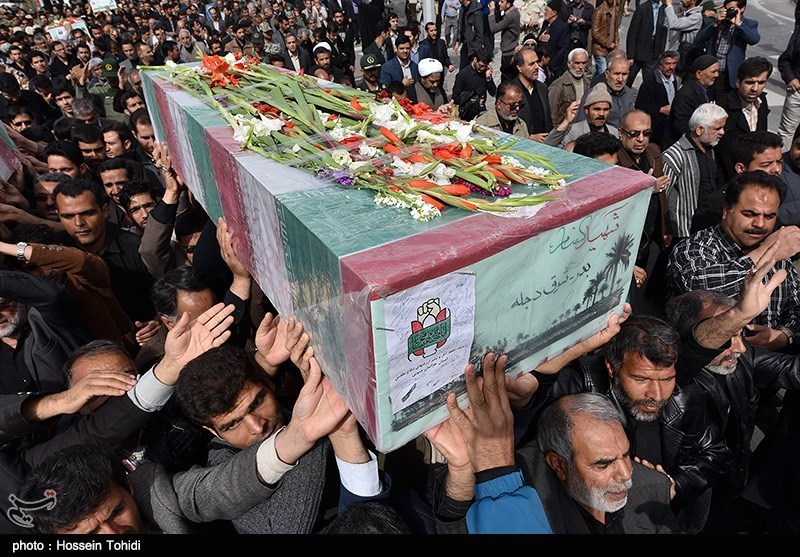 Mass Funerals Held in Iran for Unidentified Martyrs