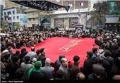 اراک| کاروان غم عزاداران فاطمی در استان مرکزی به راه افتاد