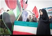 تشییع دو شهید گمنام در ساری