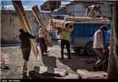 کارگاه قالیشویی در اراک