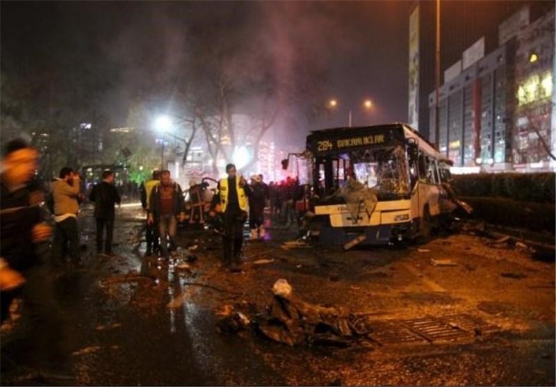 ارتفاع عدد قتلى الهجوم الانتحاری فی العاصمة الترکیة الى 34 شخصا