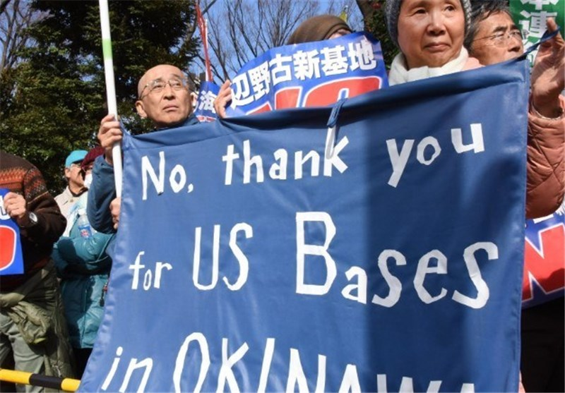 4 Arrested in Okinawa for Obstructing US Base Transfer Work