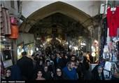 بازار تهران در آستانه سال جدید
