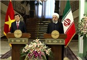 Iran, Vietnam to Raise Bilateral Trade to $2bln: Rouhani
