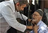 خدمات رایگان پزشکی به محرومین شرق شیراز ارائه میشود