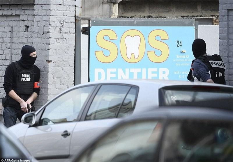 عملیات ضد تروریستی در بلژیک