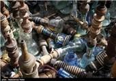 معدوم سازی 3000 قلیان در همدان