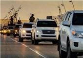 """تحویل 75 خودرو حامل تجهیزات نظامی به داعش توسط حامیانش/ نزاجا """"تصاویر و مستندات"""" این تحویلدهی را در اختیار دارد"""