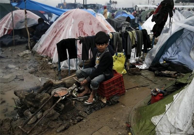 یونان 10 هزار پناهجو را از کمپ ایدومنی تخلیه میکند