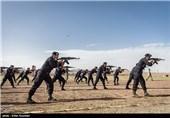 مراسم اختتامیه دوره واکنش سریع و تک تیرانداز ارتش