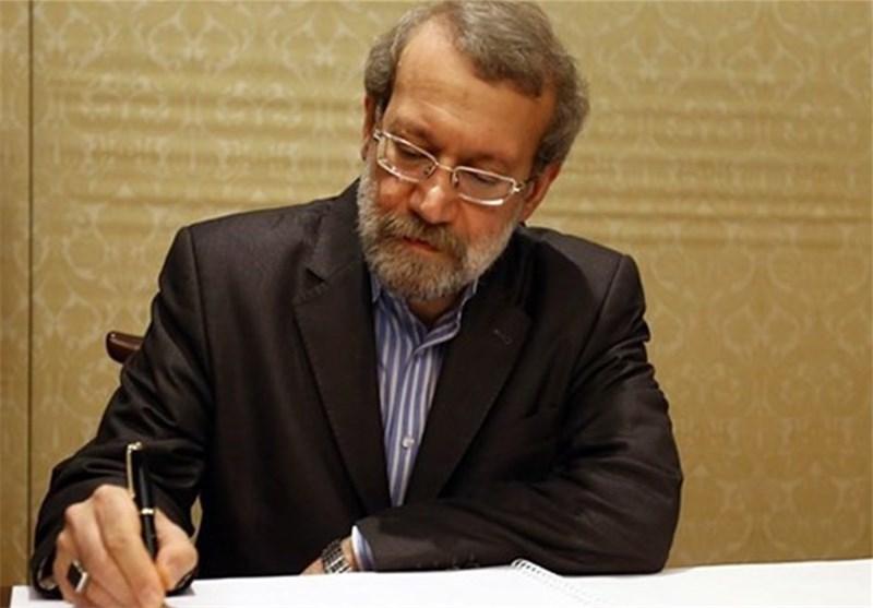 لاریجانی : إنعدام الأمن فی العالم الاسلامی یصب لصالح الکیان الصهیونی