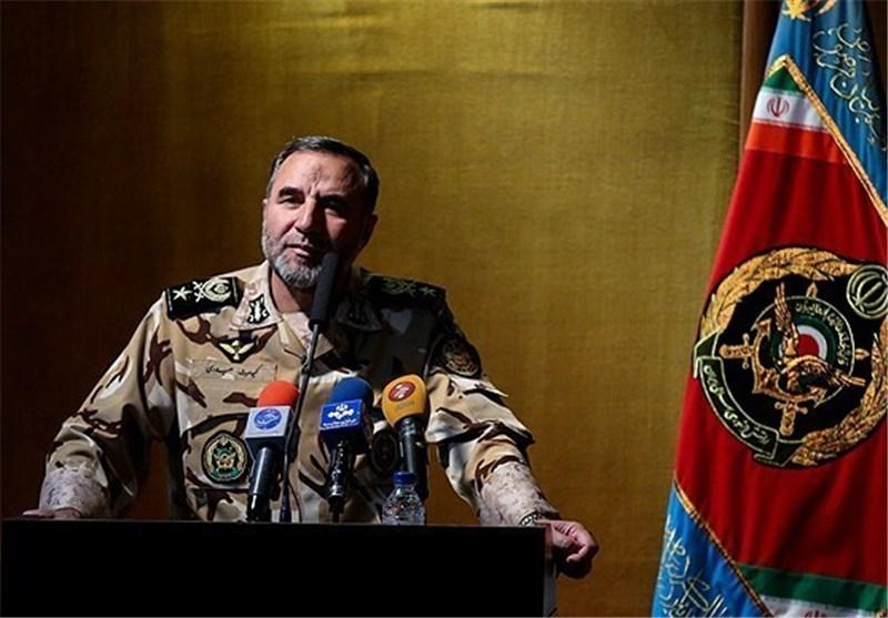 امیر کیومرث حیدری جانشین فرمانده نیروی زمینی ارتش