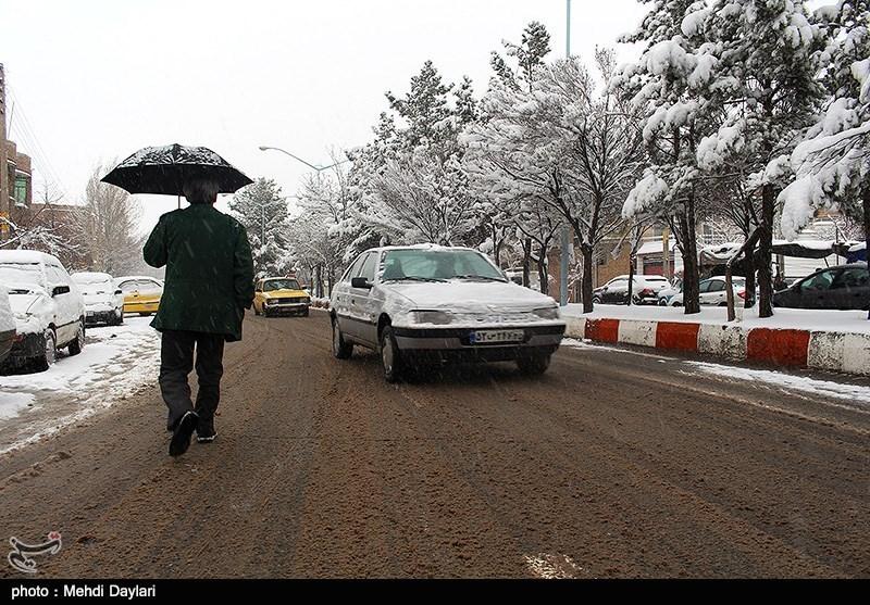 باران و برف اکثر مناطق کشور را فرا میگیرد