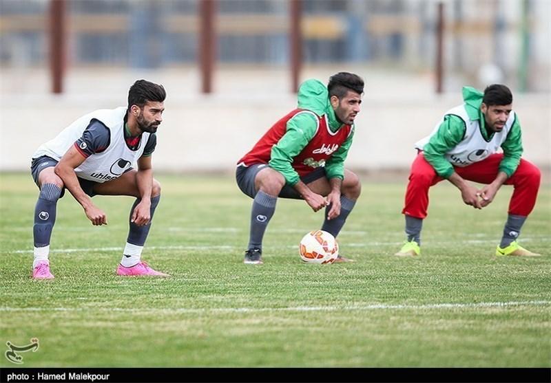 کنعانیزادگان - تمرین تیم ملی فوتبال