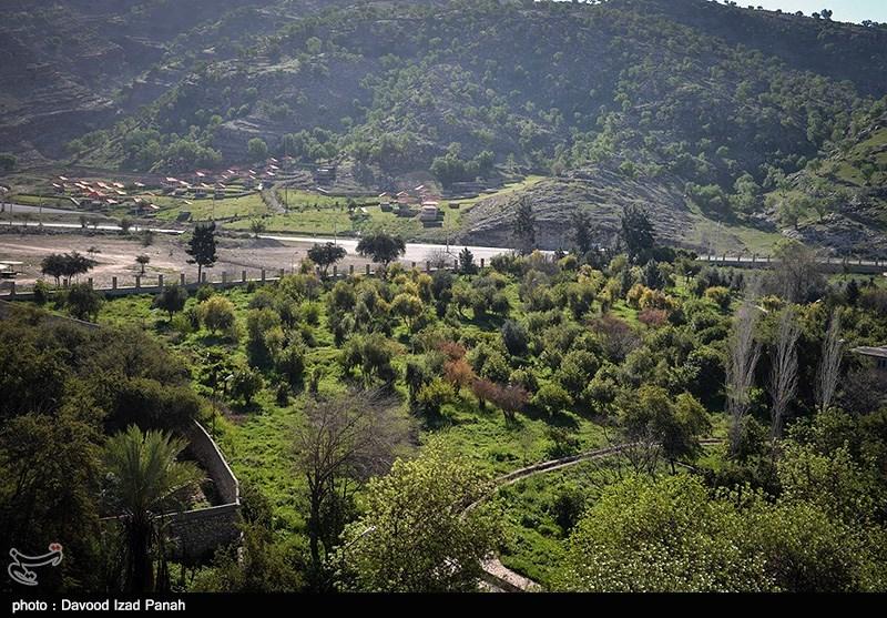Cheshme Belghais Garden Southwest of Iran