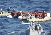 ایتالیا: کشتی مهاجران نجاتیافته از دریا را نمیپذیریم