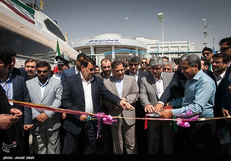 Iran Opens New Ferry Terminal Ahead of Holiday Travels