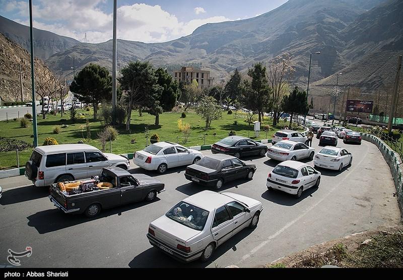 ترافیک نیمه سنگین در محور هراز و جاده قزوین ــ رشت
