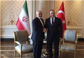 Iranian, Turkish Top Diplomats Discuss Palestine