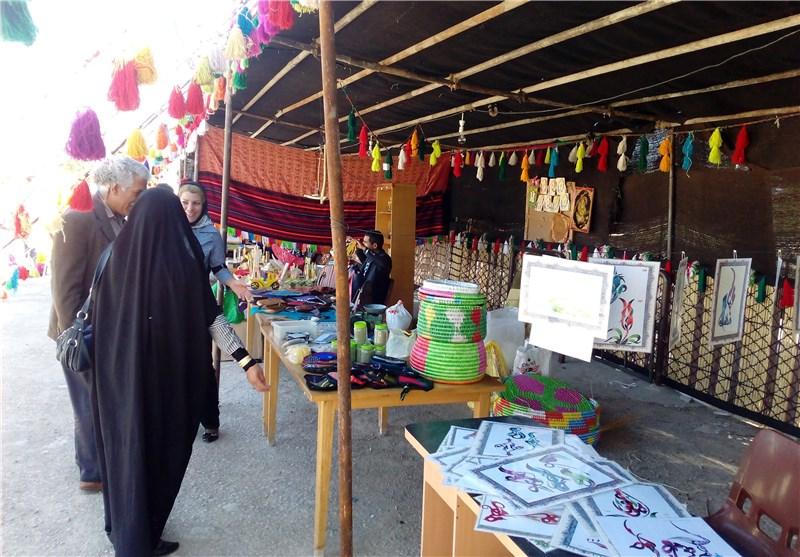 نمایشگاه صنایع دستی کهگیلویه