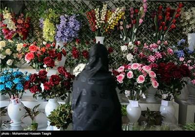 سوق الزهور فی مشهد المقدسة