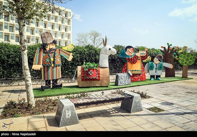 المان های نوروزی مشهد در سال 95