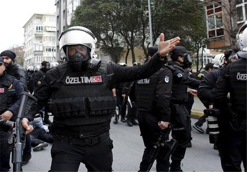 الشرطة الترکیة