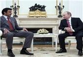 امیر قطر هفته آینده با پوتین دیدار میکند