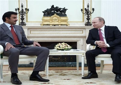 امیر قطر هفته آینده با پوتین دیدار می کند