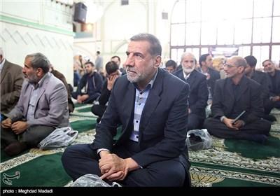 کوثری نماینده مجلس در مراسم ترحیم آزاده جانباز حسن حسین زاده