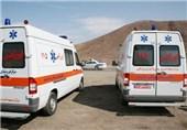 ماموران اورژانس فارس در حین انجام ماموریت مصدوم شدند