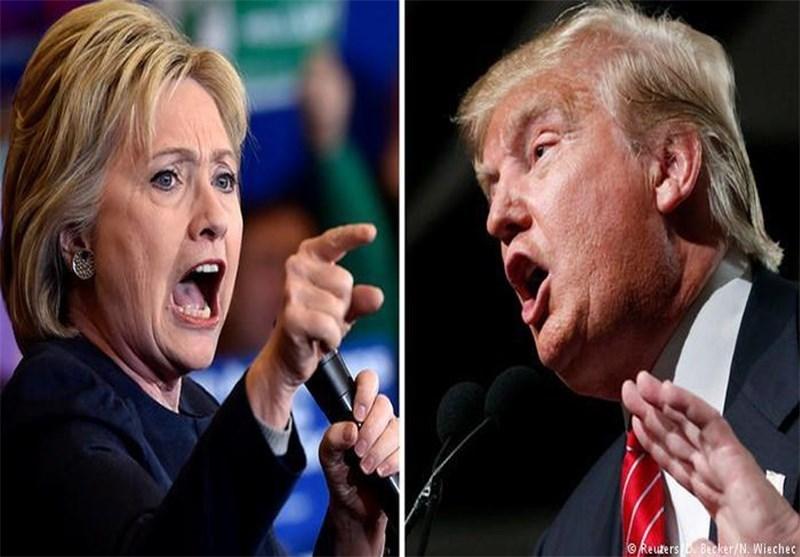 ترامب وکلینتون یفوزان فی نیویورک ویقتربان من الترشح للرئاسة