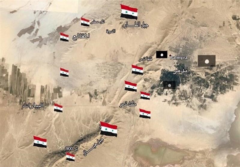 IŞİD'in Palmira'ya Düzenlediği Saldırıda Suriye Ordusundan 30 Asker Öldü Ve 6 Kişi Esir Oldu