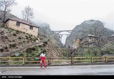 یک روز با اکیپ امداد جاده ای هلال احمر - مازندران