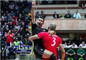 محمدرضا مؤذن بازیکن ملیپوش تیم والیبال شهرداری تبریز