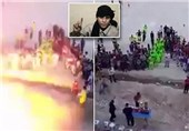 تلفات حمله به استادیومی در عراق به 65 نفر رسید + فیلم لحظه انفجار