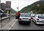 مازندران  محور هراز مسدود شد