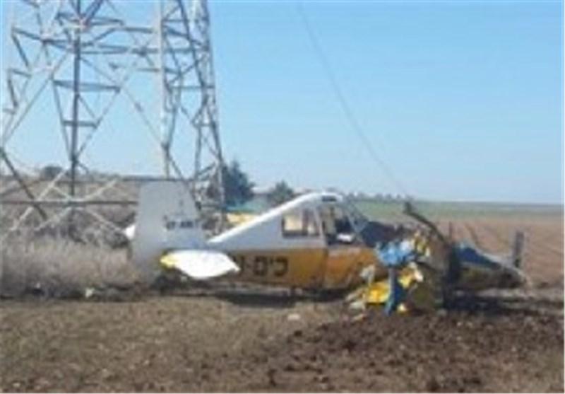 تحطم طائرة صهیونیة ومقتل قائدها فوق الجلیل
