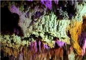 بازدید گروهی از گردشگران فرانسوی از غار نخجیر دلیجان
