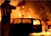 پناهجویان حومه استکهلم را به آتش کشیدند + فیلم