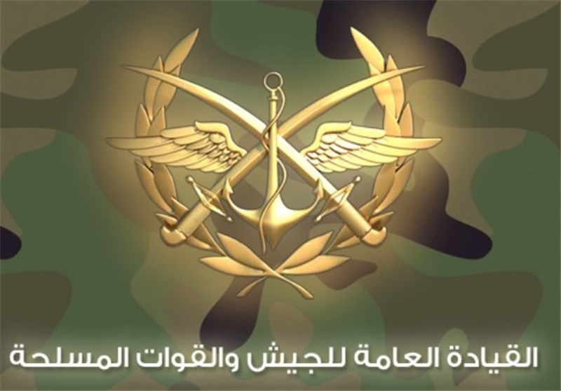 الجیش السوری یعلن اسقاط طائرة صهیونیة واصابة أخرى
