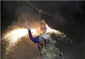 Mexicans Burn Donald Trump Effigies