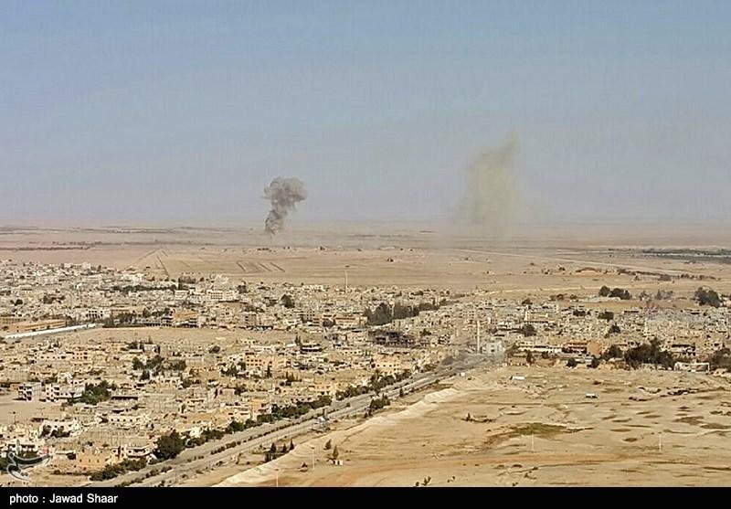 آزادسازی شهر تاریخی تدمر - سوریه