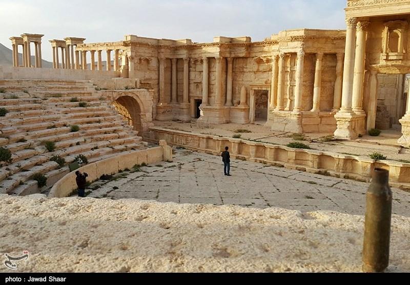 IŞİD'İN ANTİK ŞEHİR PALMİRA'YA VERDİĞİ HASARLAR