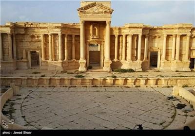 مدینة تدمر الأثریة بعد تحریرها