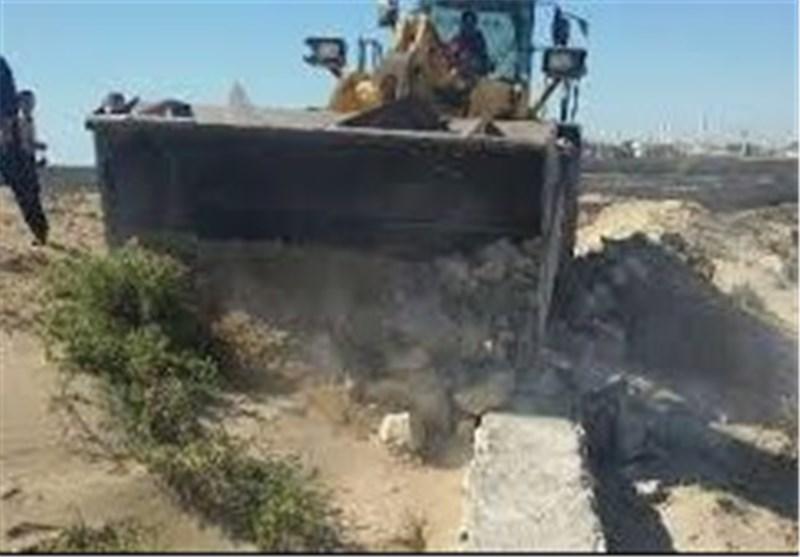 295 هزار مترمربع از اراضی ملی در عنبرآباد رفع تصرف شد